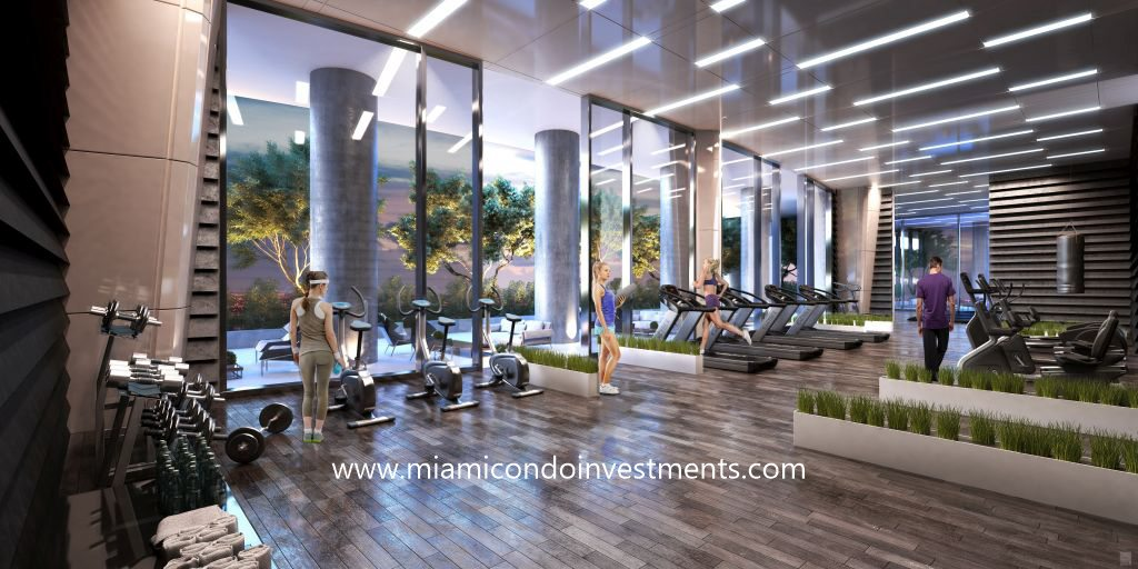 fitness center at canvas miami