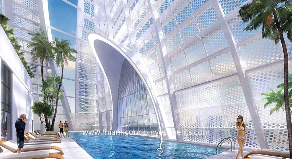 Okan Tower sky pool