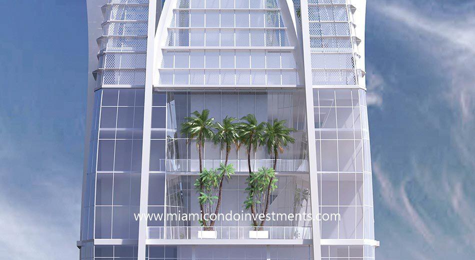 Okan Tower duplex penthouses