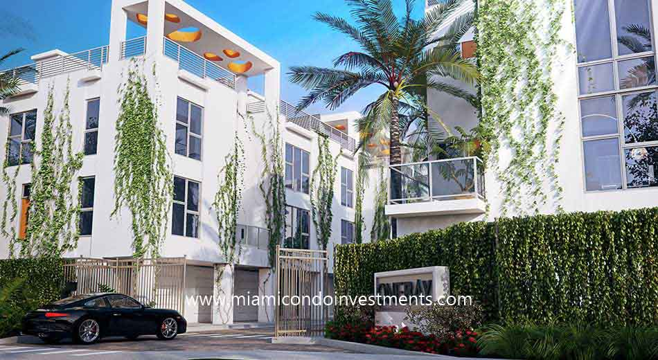 One Bay townhouses in Miami
