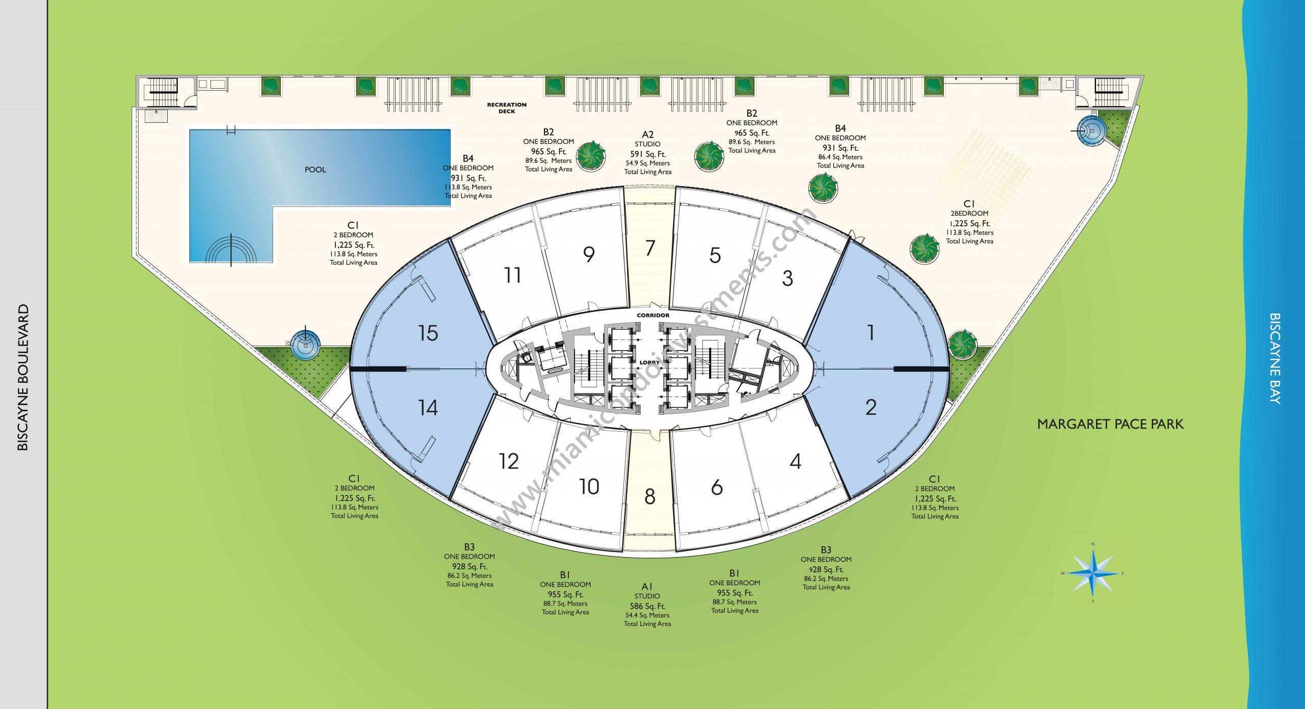 Floorplans 1 - Site Plan