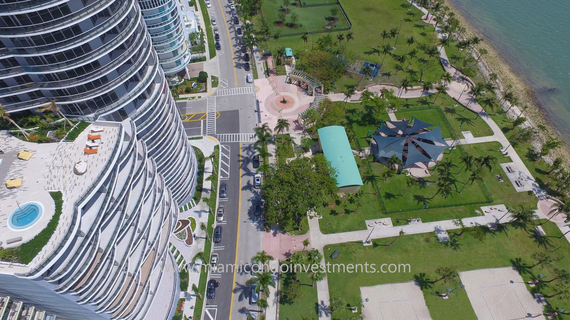Margaret Pace Park aerial photo