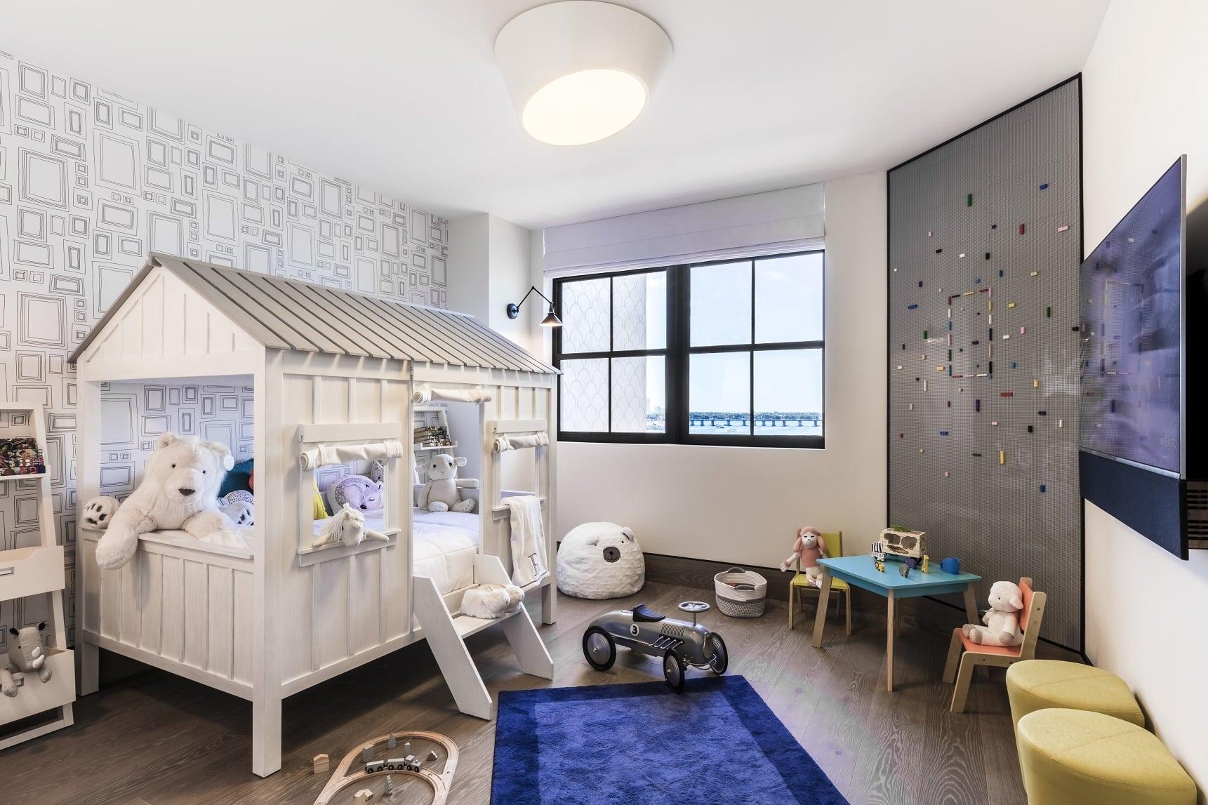 Kids room designed by Antrobus+Ramirez