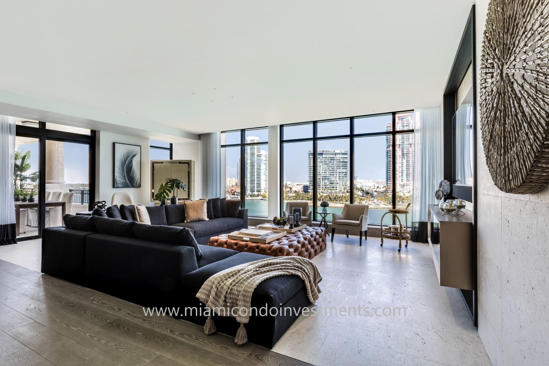 living room at Palazzo Del Sol