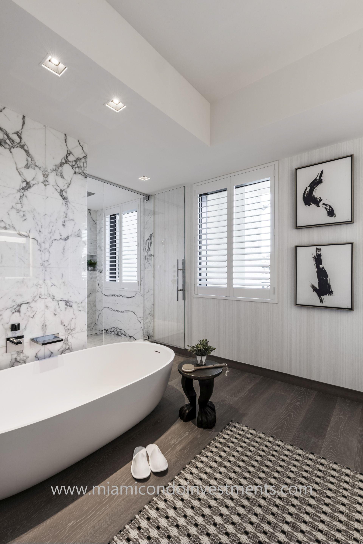 master bath designed by Antrobus+Ramirez