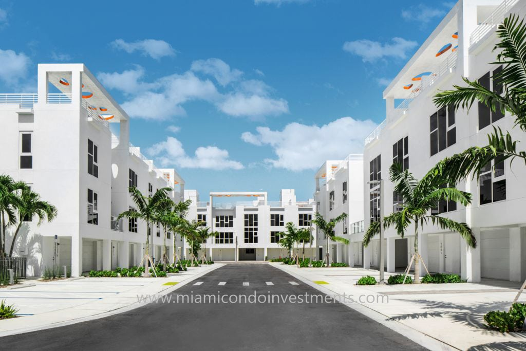One Bay townhomes