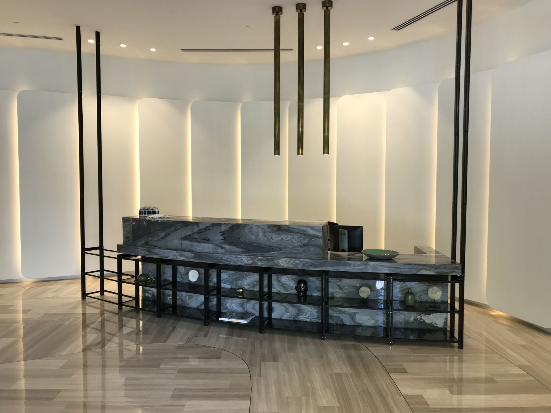 Park Grove Club Residences front desk