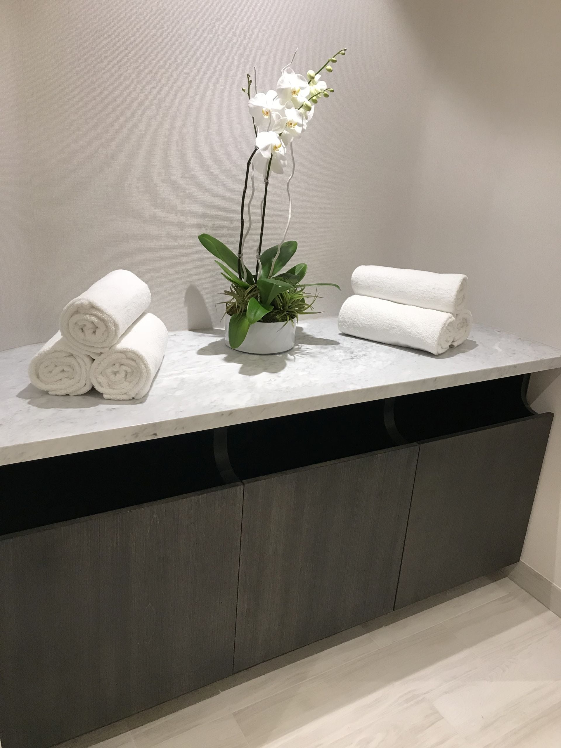 spa towels at Park Grove