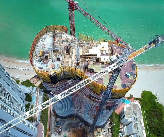 Ritz-Carlton Sunny Isles Beach construction