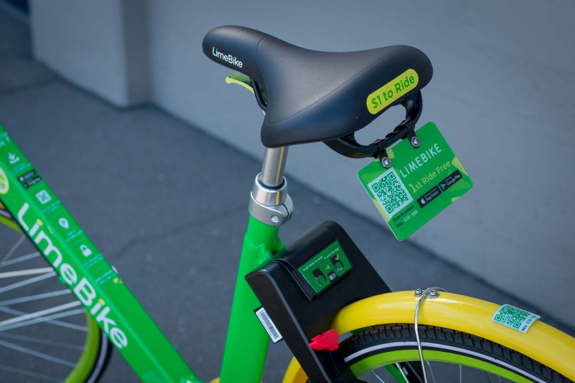 Lime Bike sharing Miami