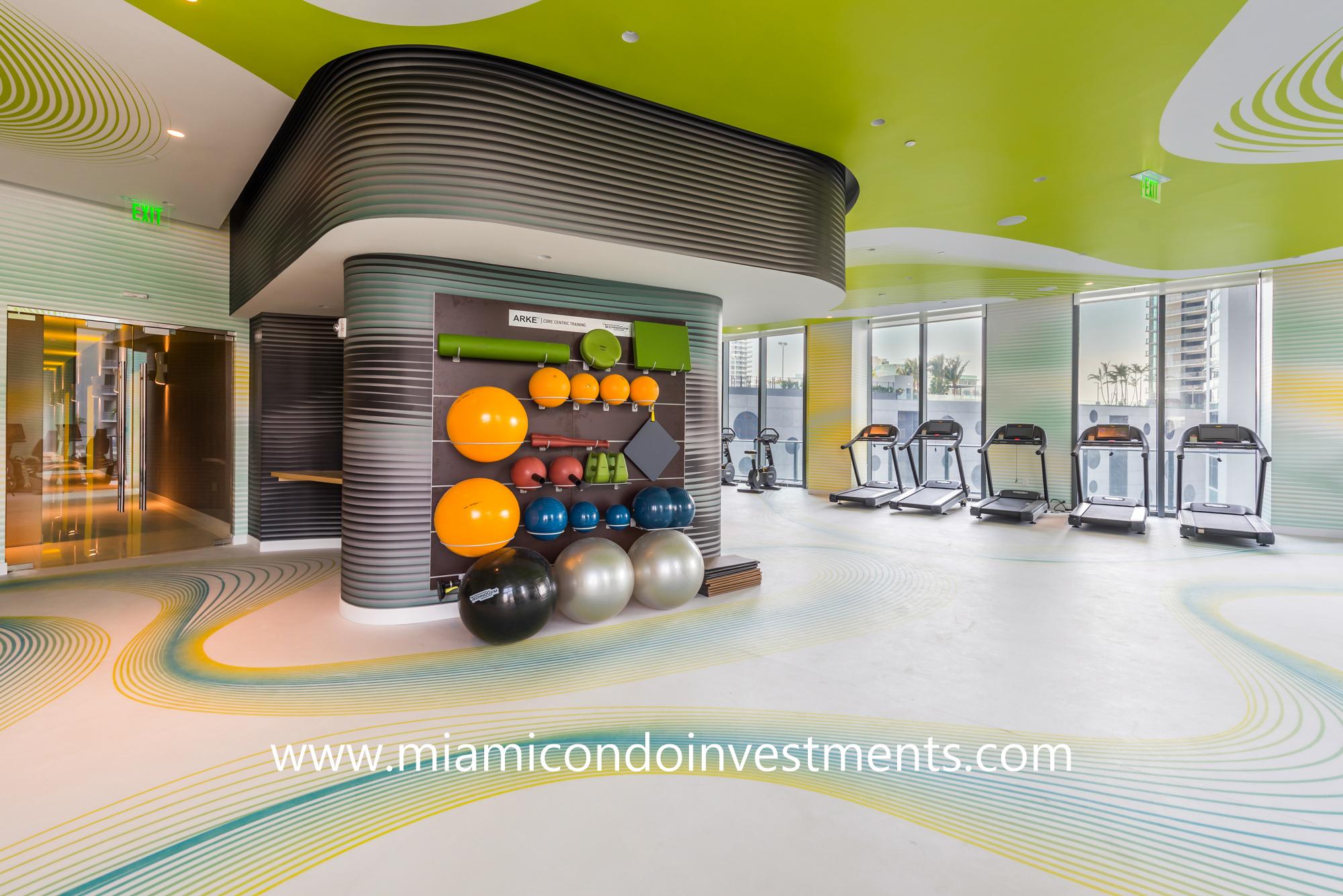 Paraiso Bayviews fitness center