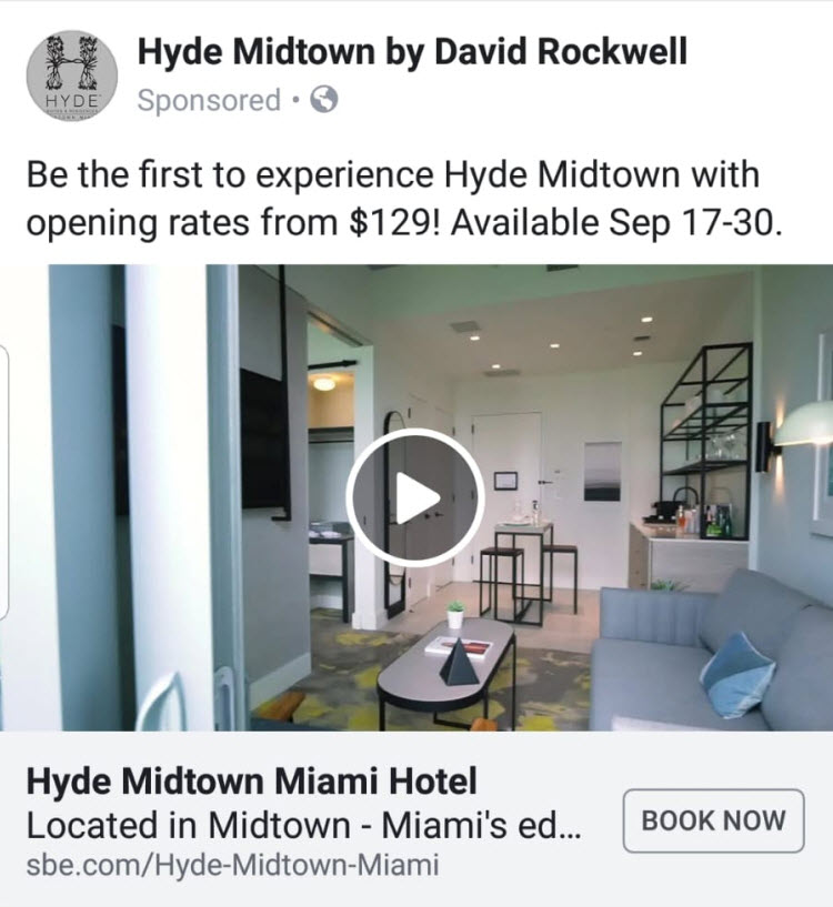 Hyde Midtown Hotel introductory rate