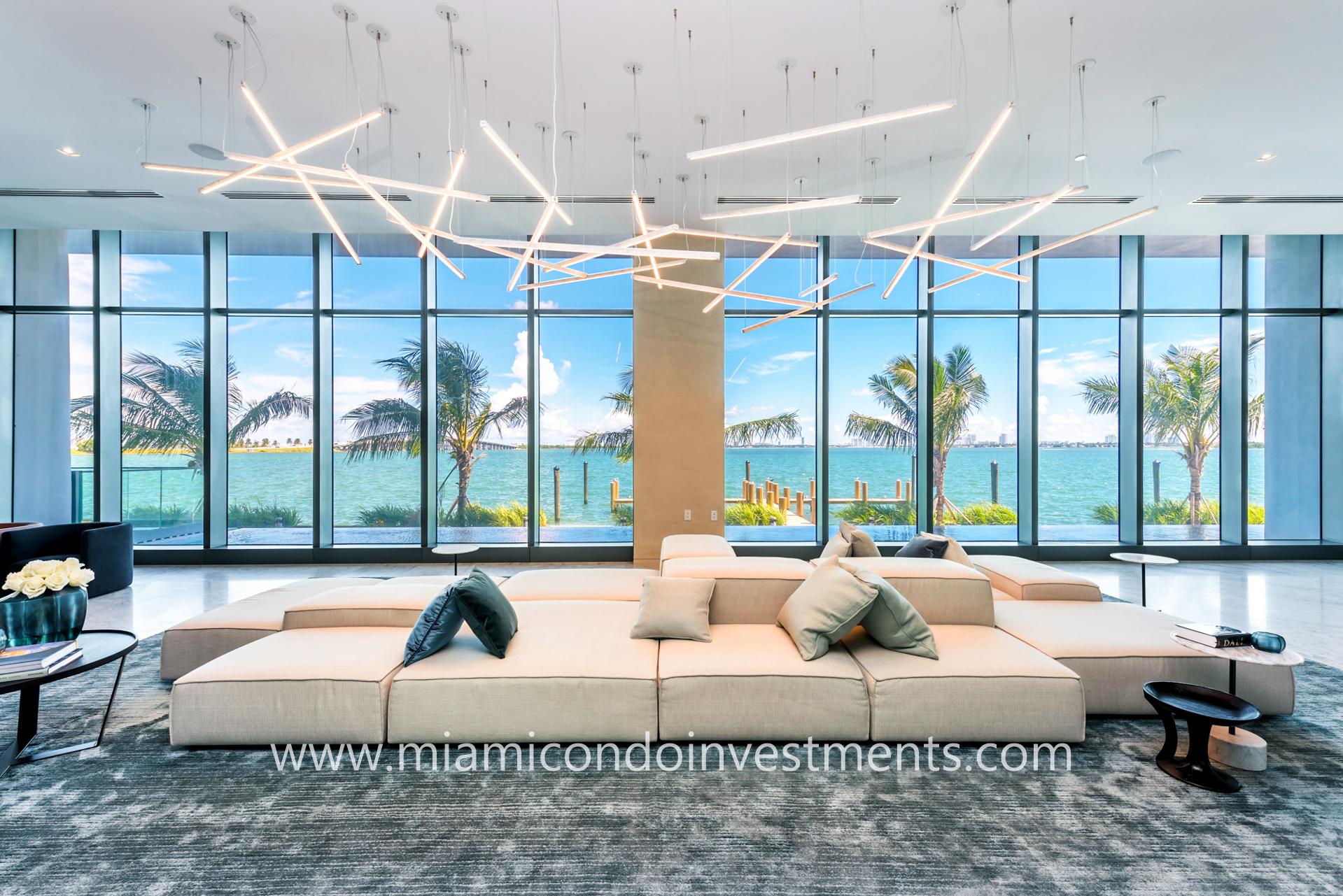 One Paraiso Miami lobby