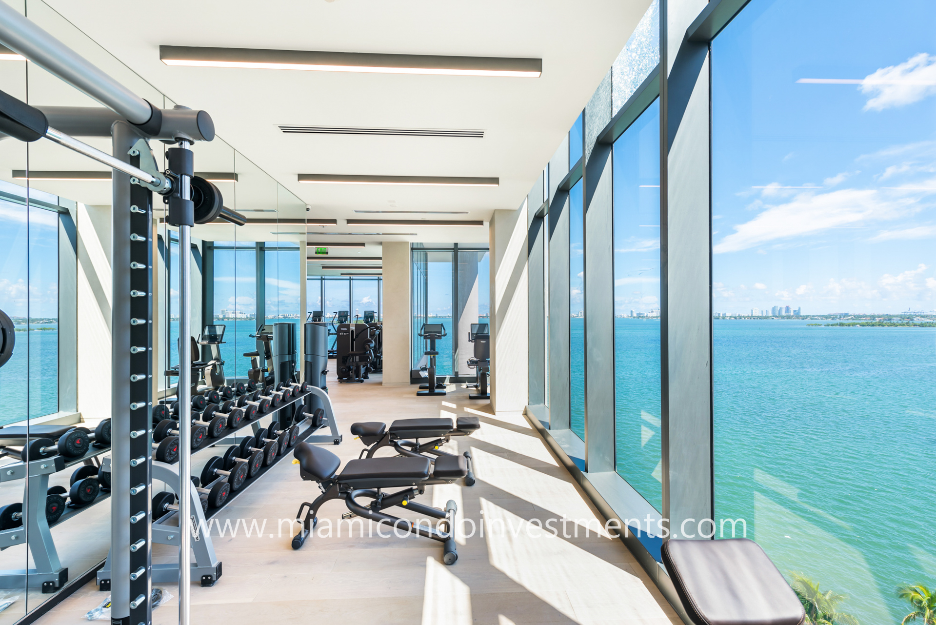 fitness center at One Paraiso