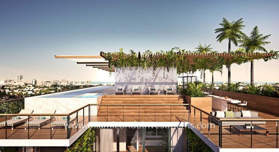 Monad Terrace penthouse pool