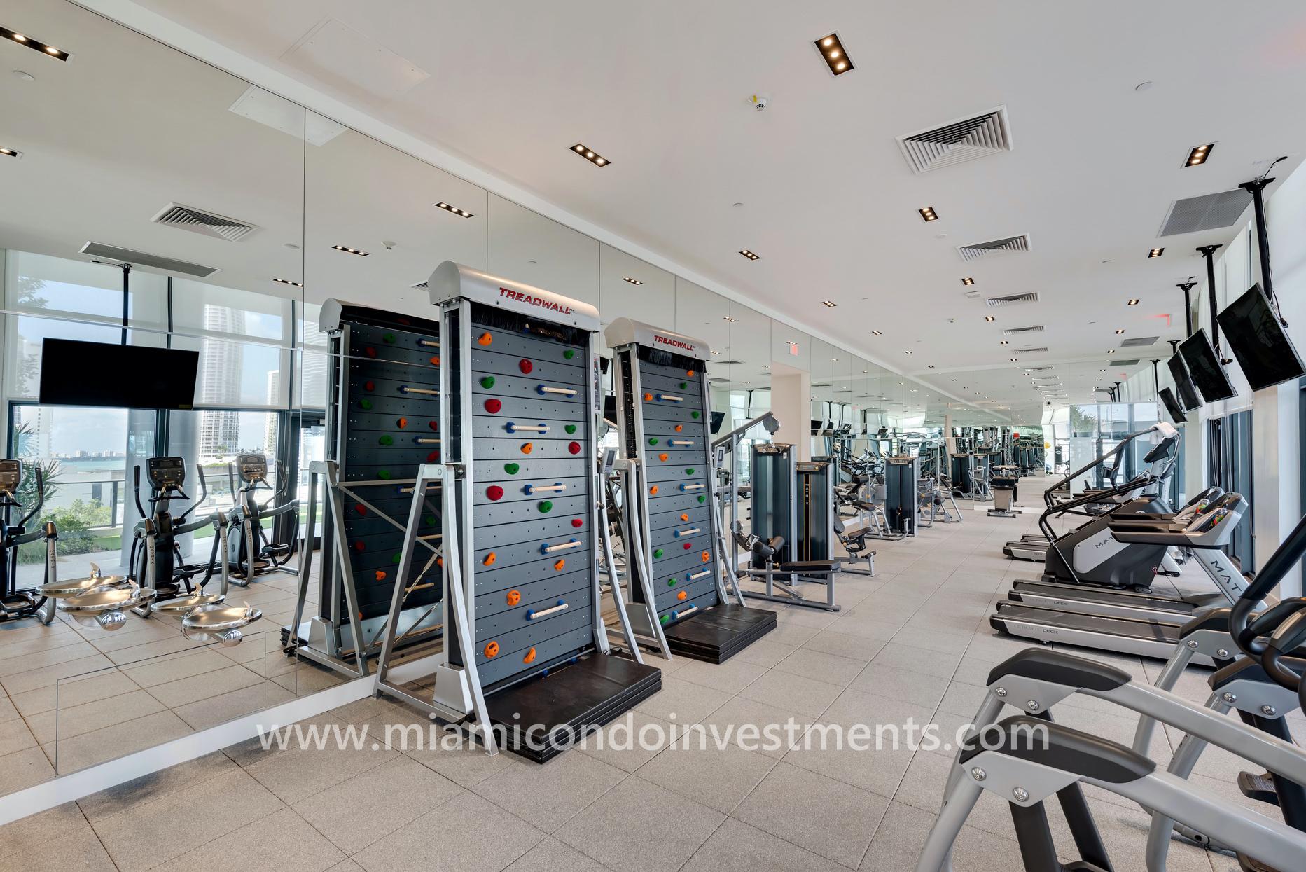 Canvas condos fitness center