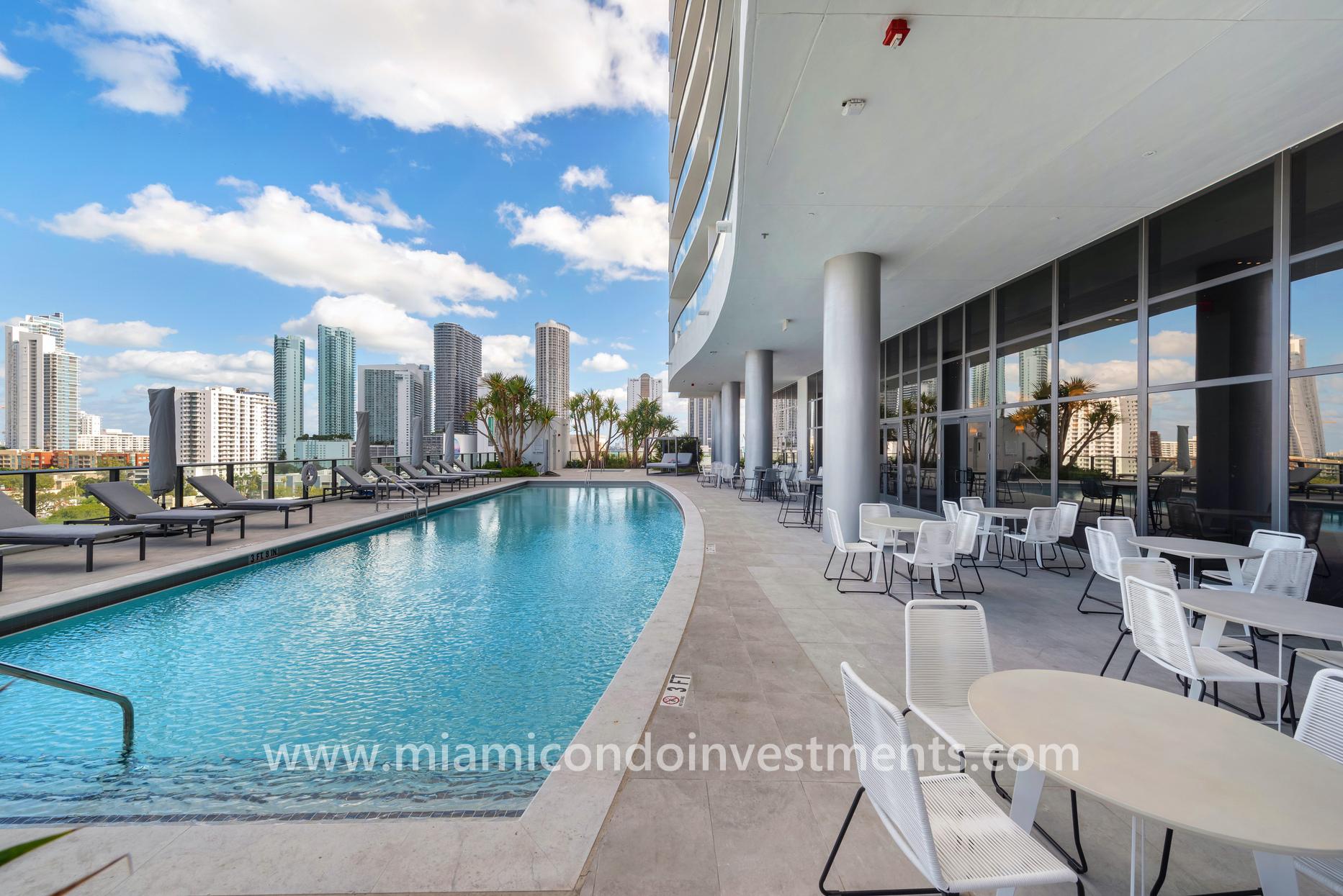 north pool at Canvas Miami