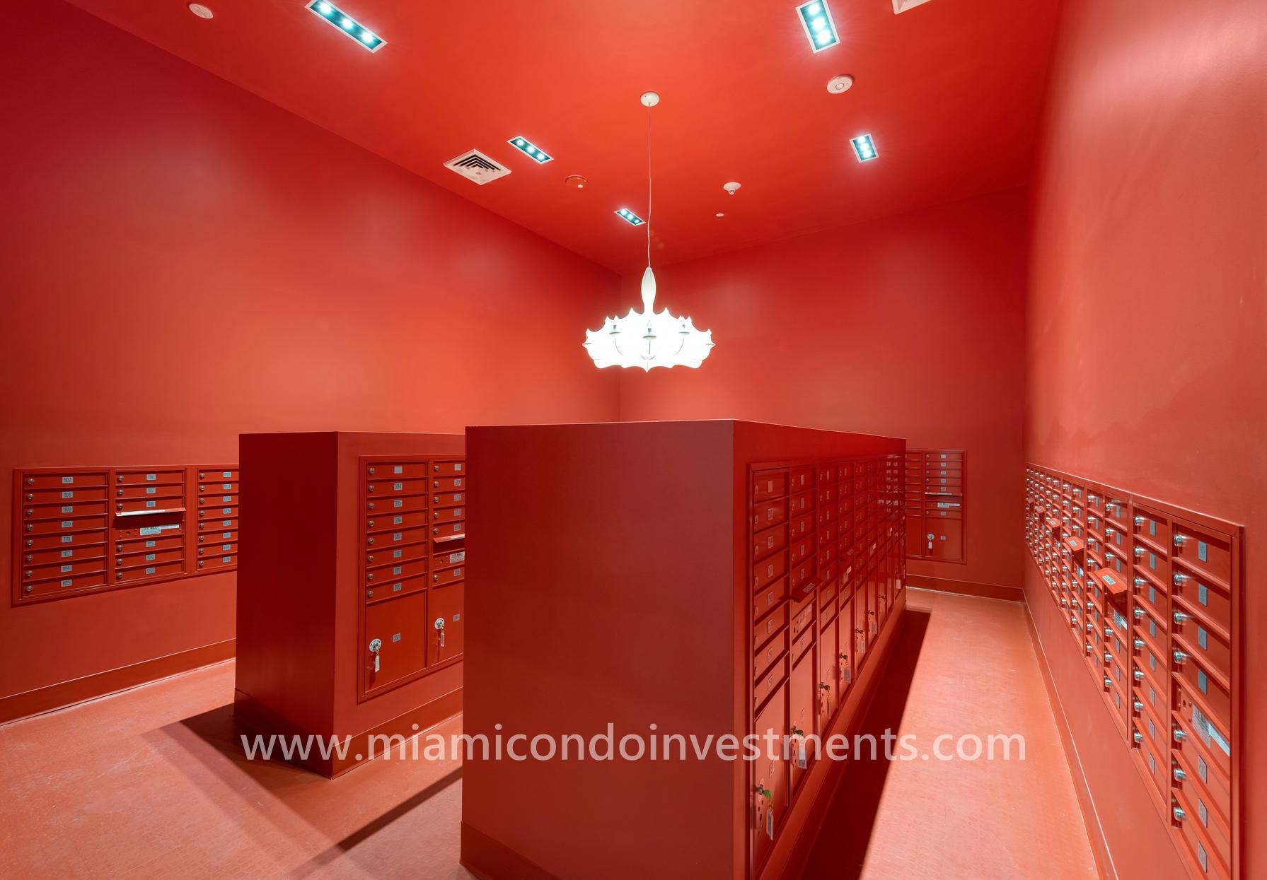 Mailroom at Canvas Condos