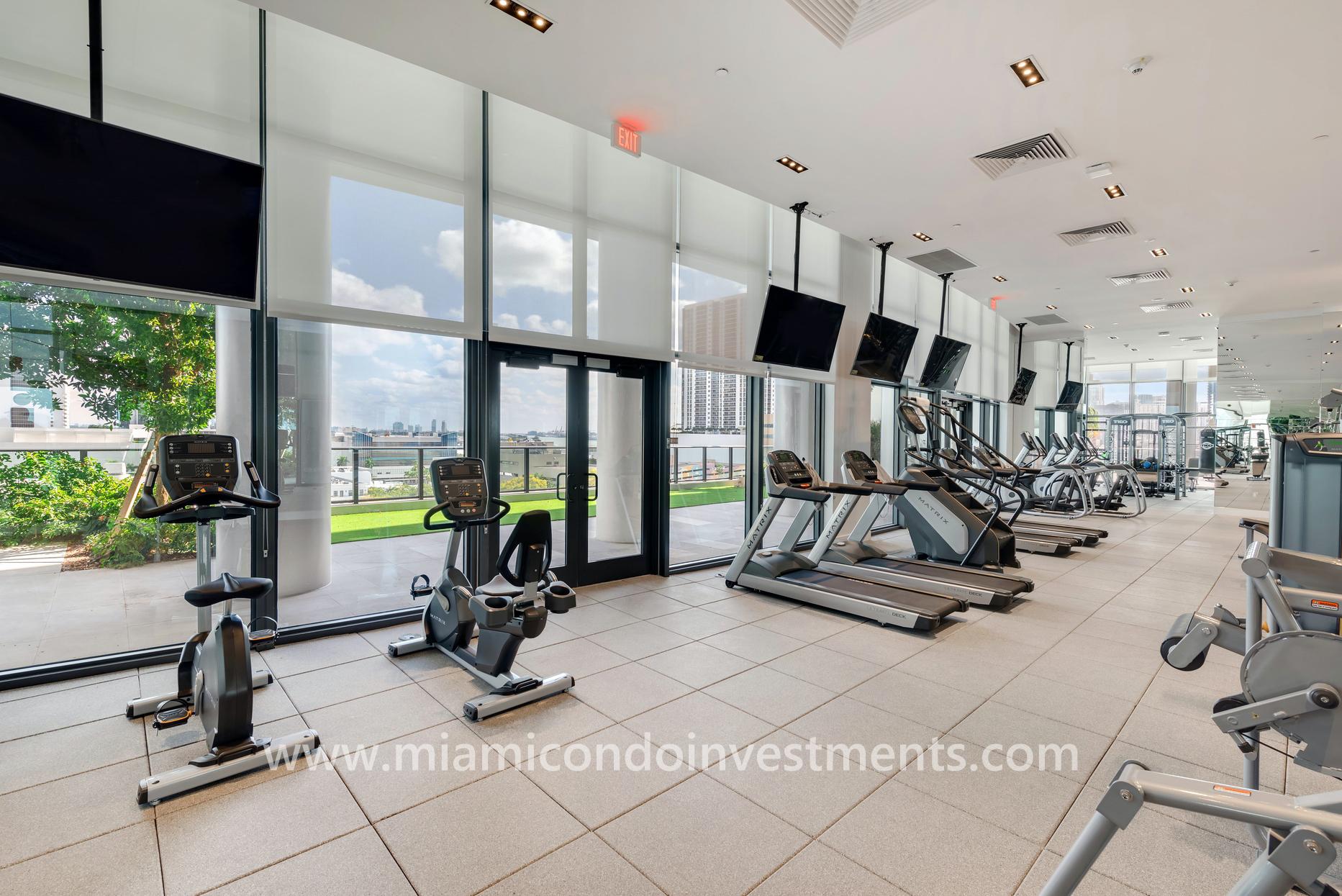 Canvas Miami fitness center