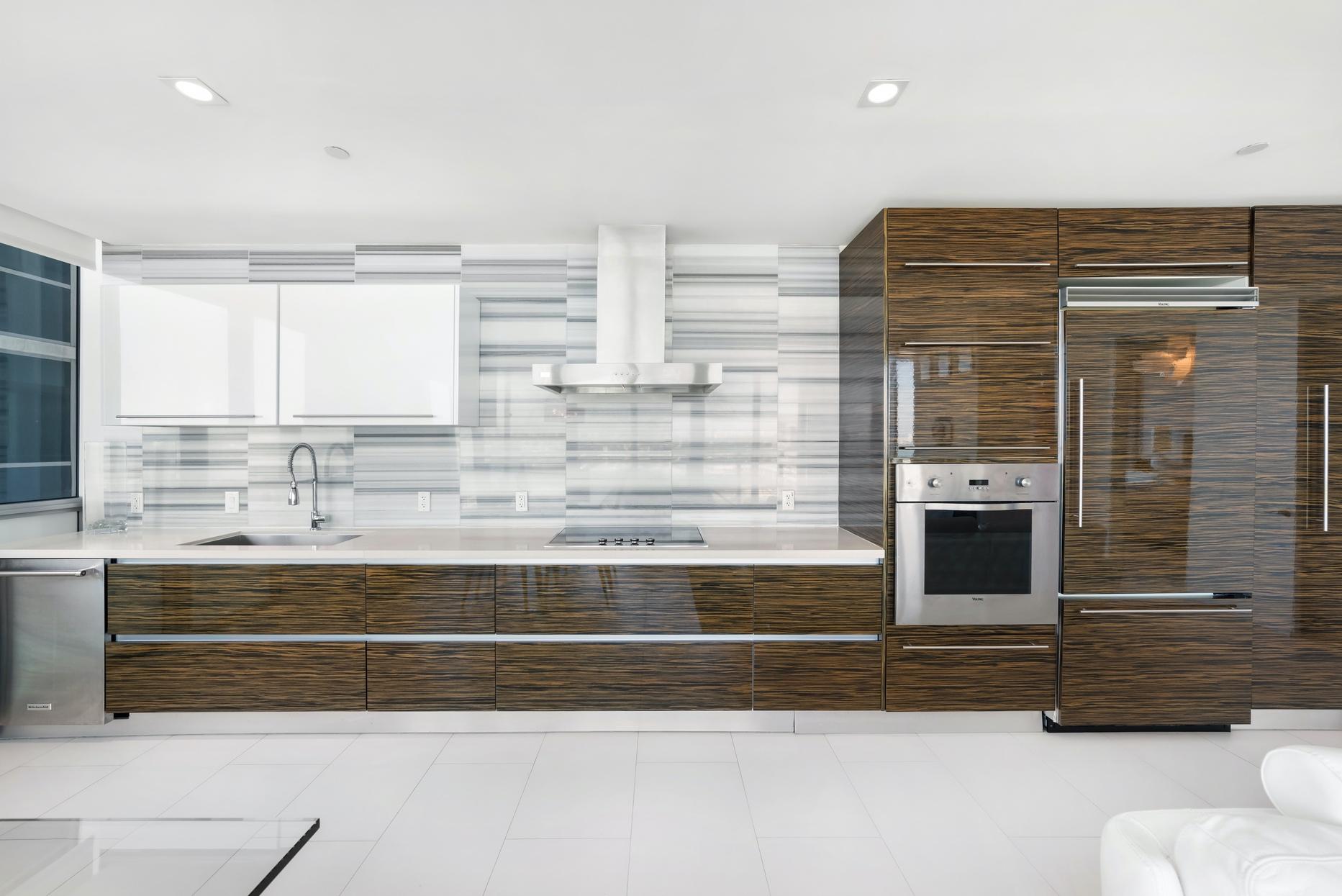 kitchen with Viking appliances