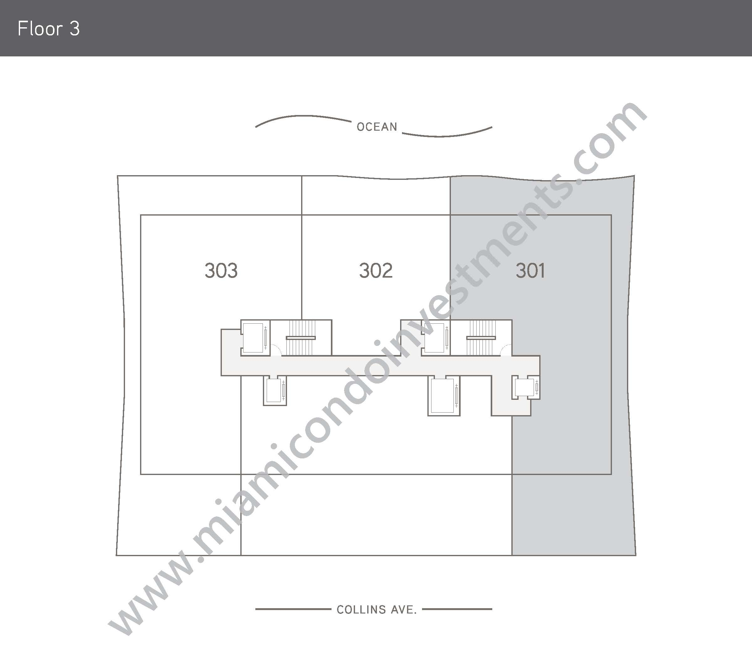 Floorplans 1 - Floor 3