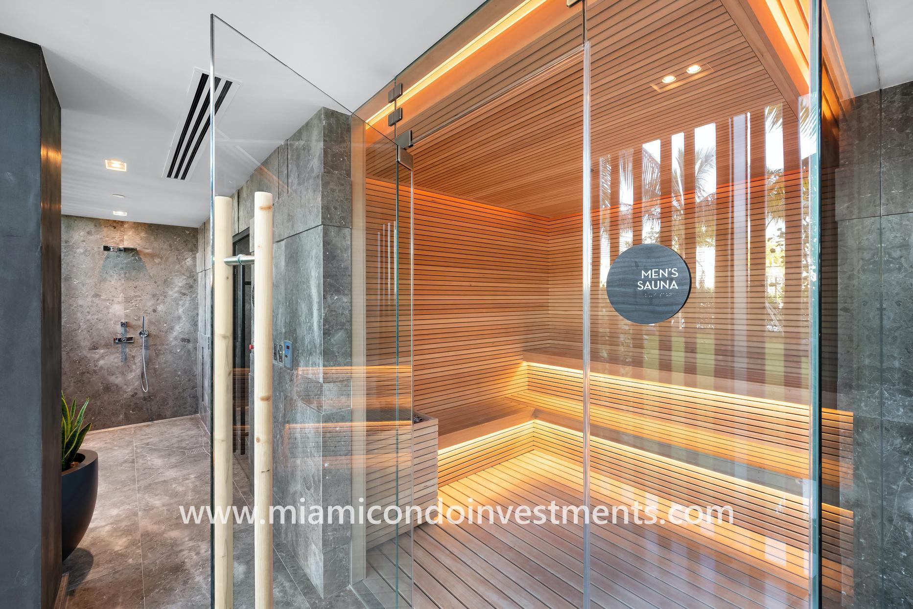 Gran Paraiso sauna