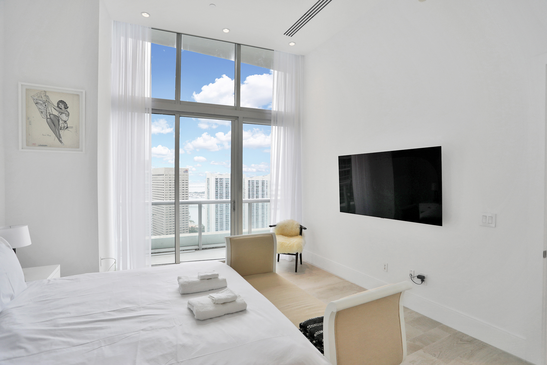 master bedroom - Icon Brickell II
