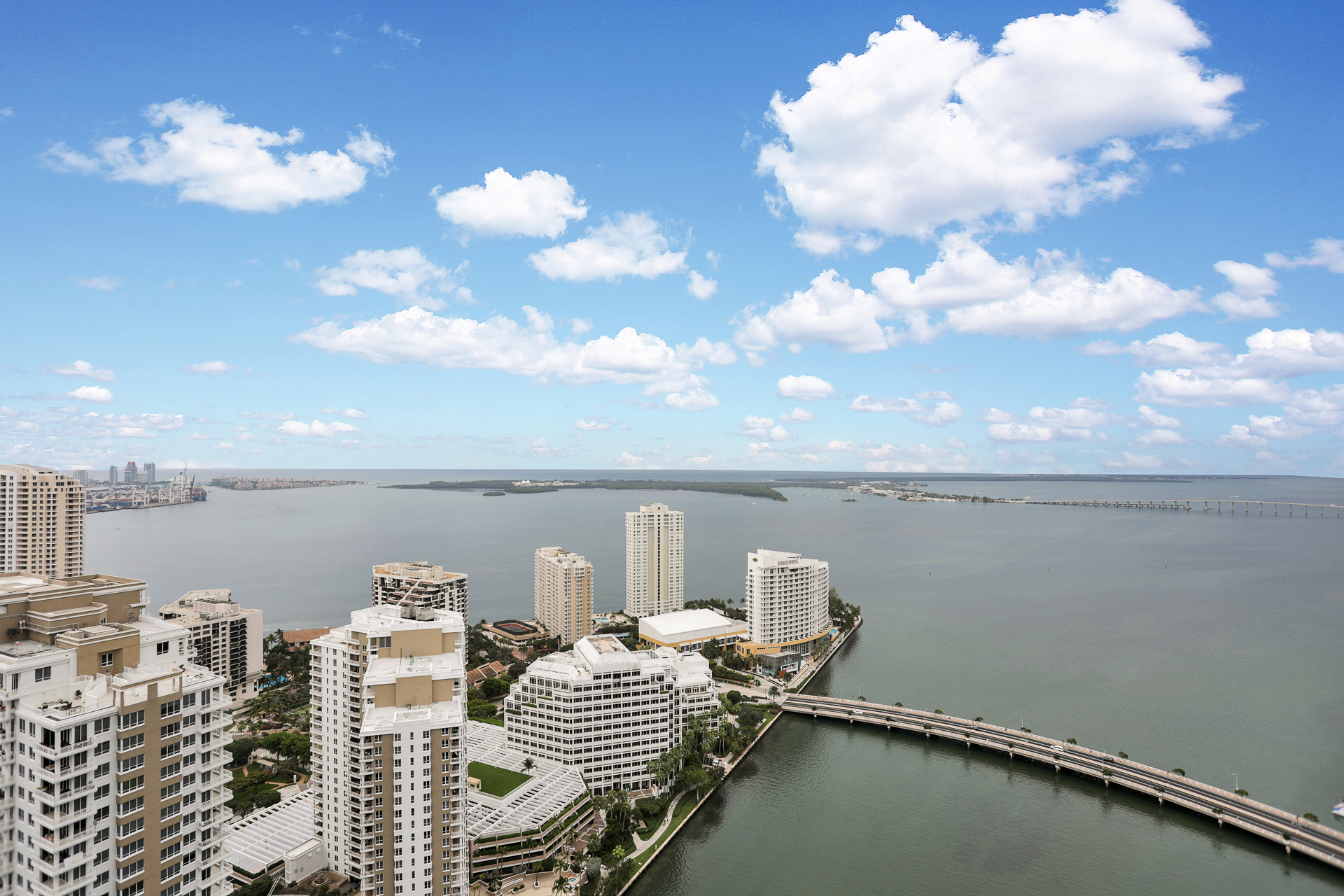 view from Icon Brickell II unit 4102