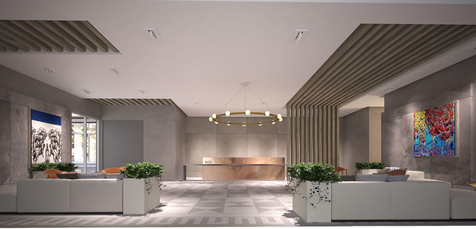 Wynwood 25 main lobby