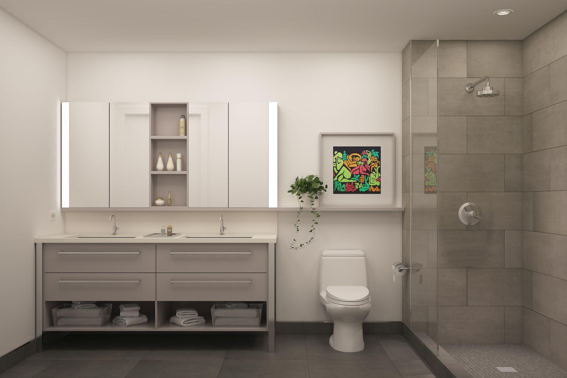 Wynwood 25 master bathroom