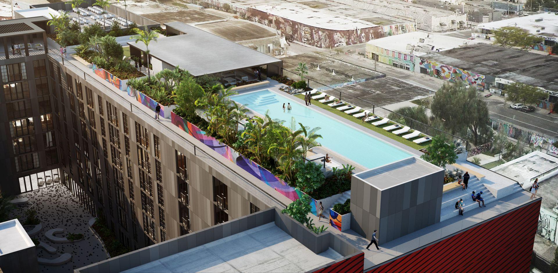 Wynwood 25 rooftop terrace