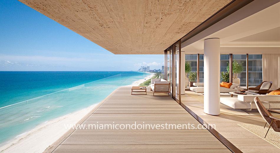 Arte terrace with ocean views