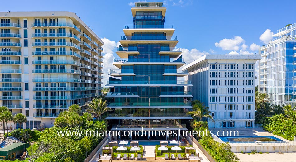 Arte condominium in Surfside Florida
