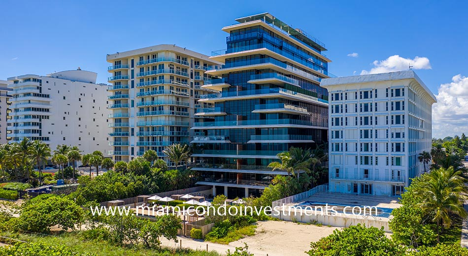 Arte condo building in Surfside FL