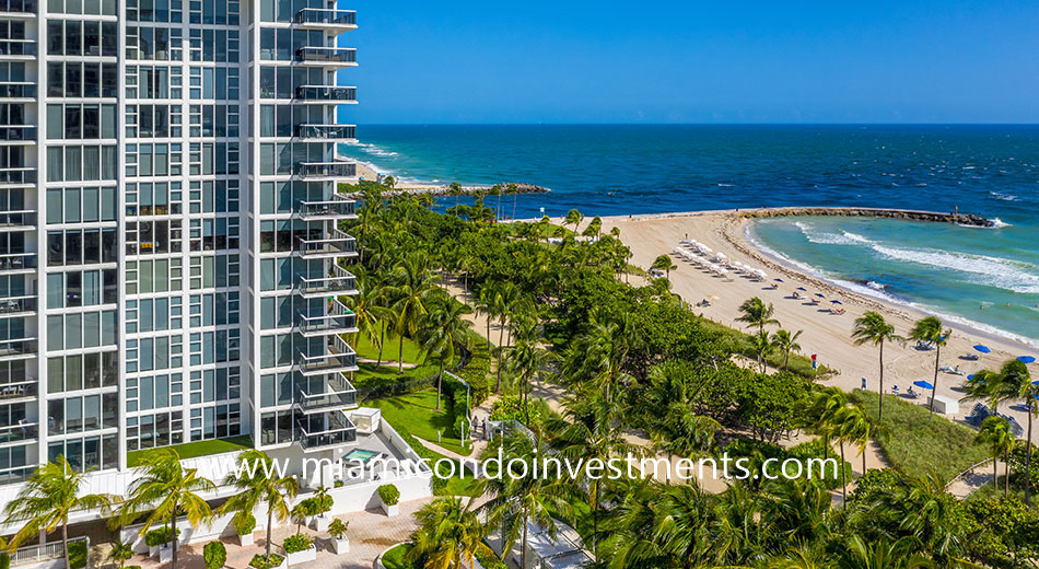 Bal Harbour inlet views from Harbour House