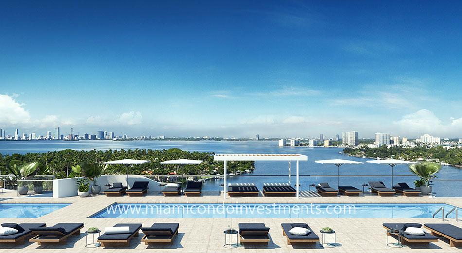 Monaco Yacht Club rooftop pool