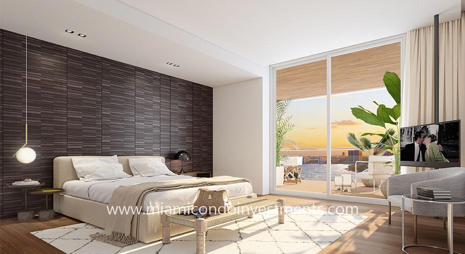 Monaco Yacht Club master bedroom
