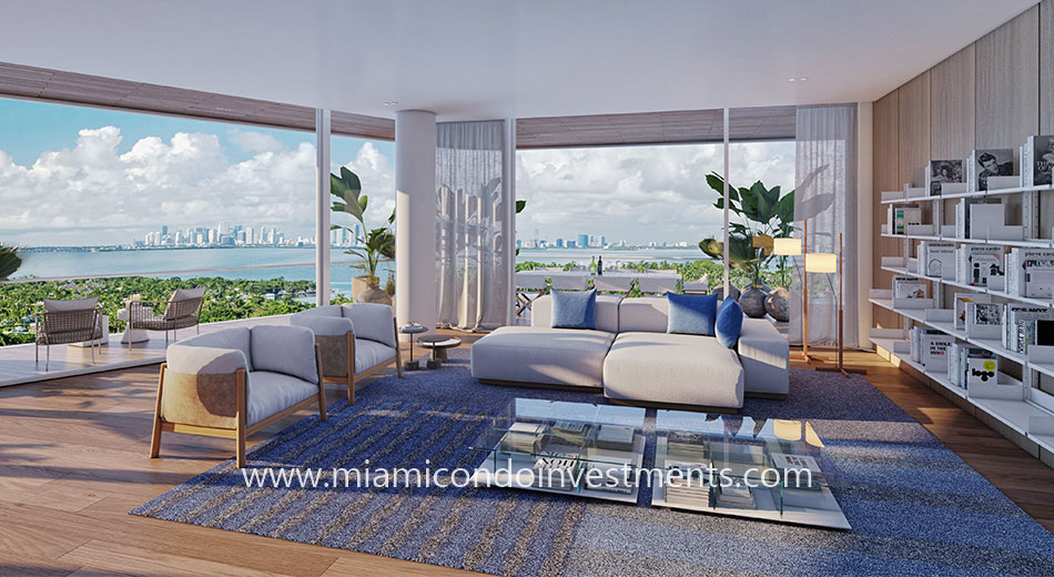 living room Monaco Yacht Club