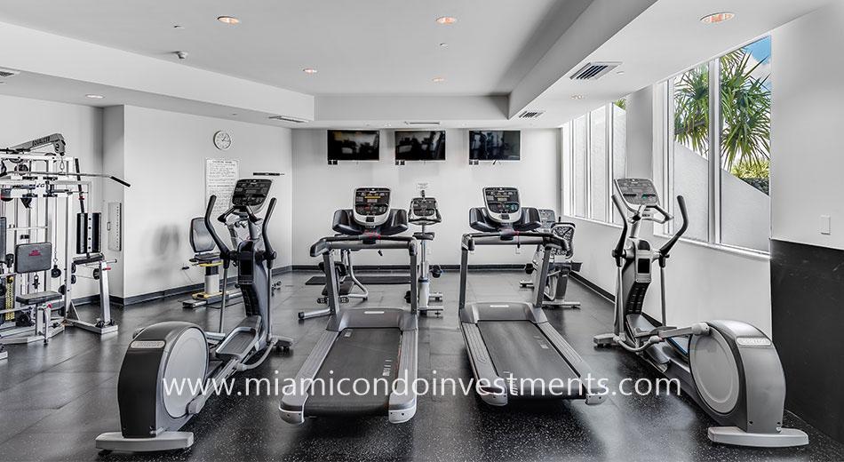 The Metropolitan Brickell fitness center