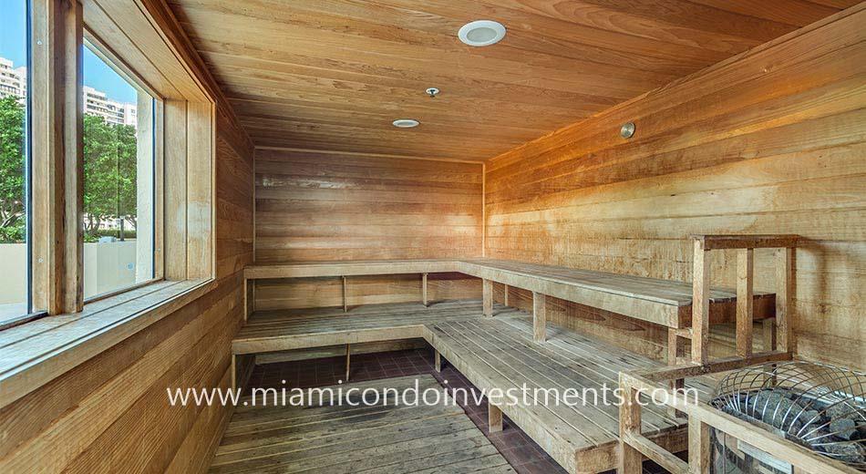 The Metropolitan sauna
