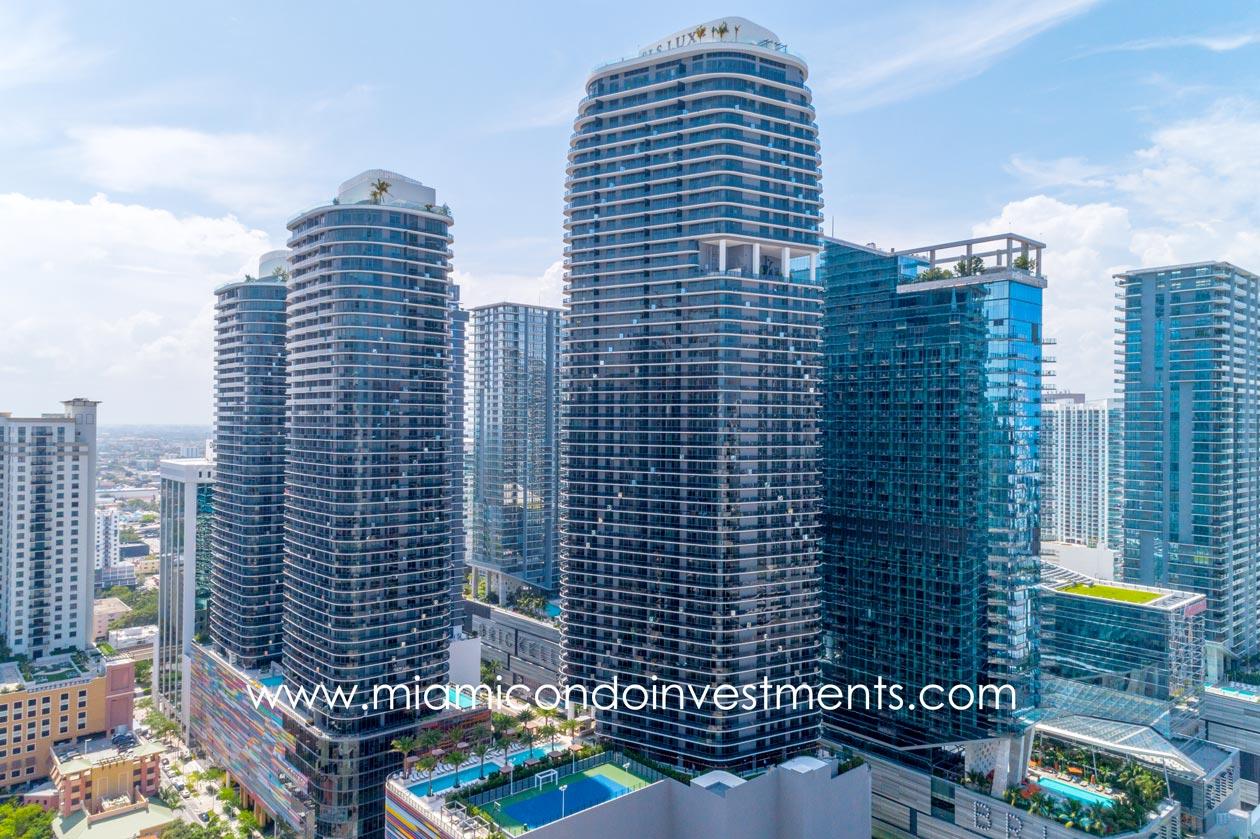 Brickell Miami condos for rent