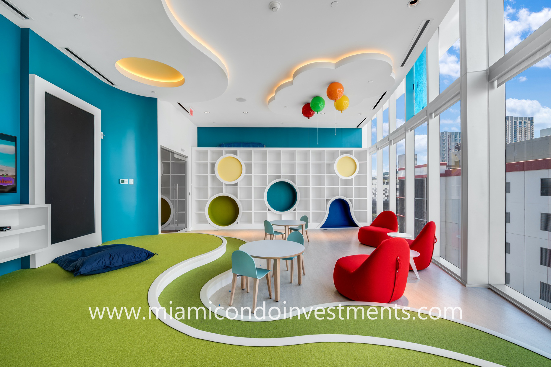 Paramount Miami children's playroom