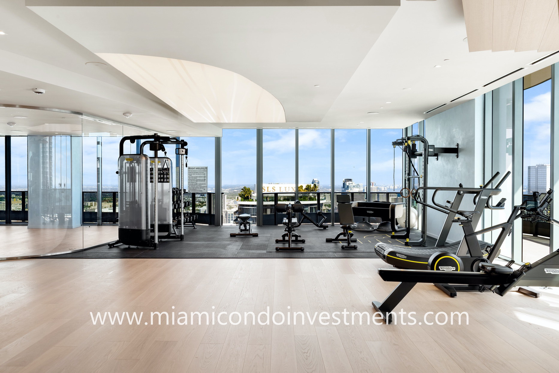 Brickell Flatiron fitness center