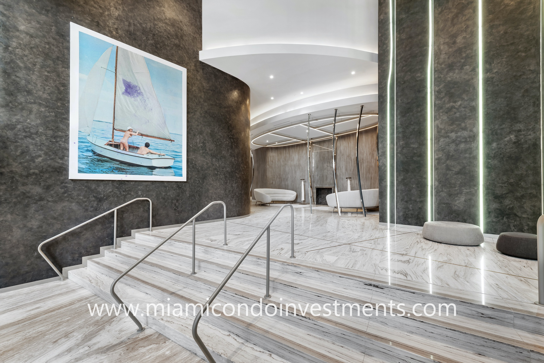 Brickell Flatiron lobby entrance