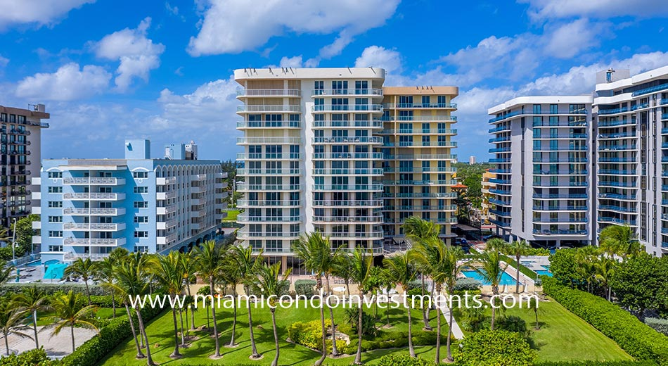 Champlain Towers East in Surfside, Florida