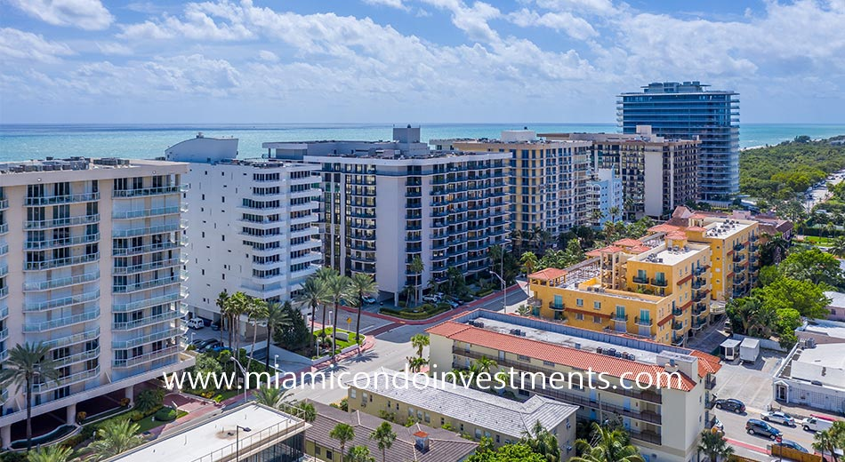 Champlain Towers North in Surfside, FL
