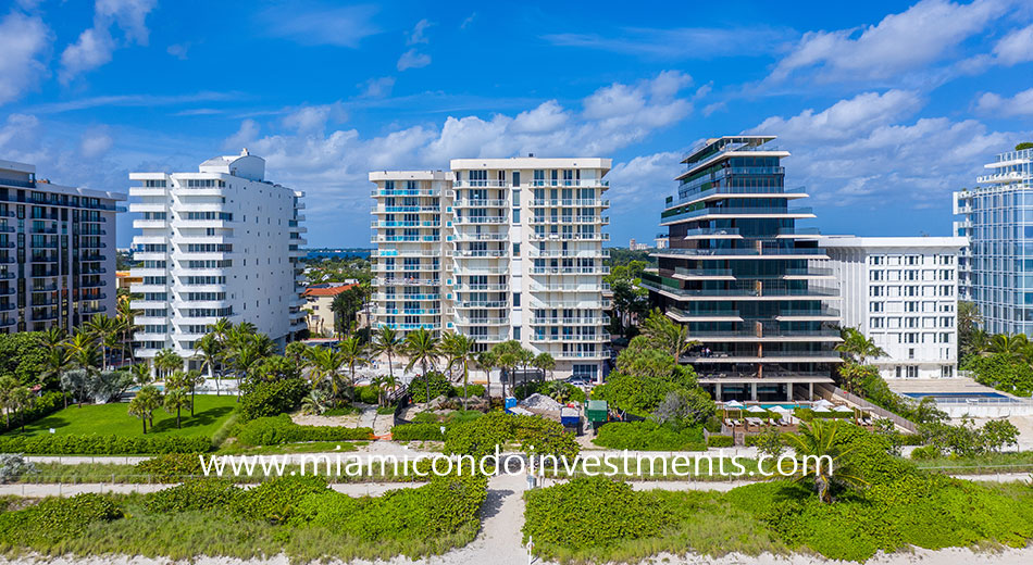 Mirage apartments in Surfside