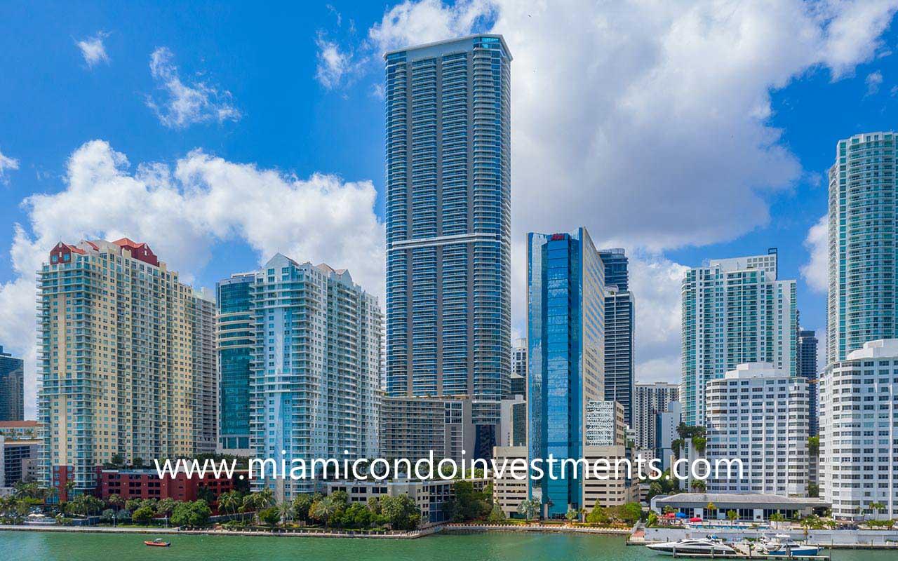 Panorama Tower at 1100 Brickell Bay Dr Miami FL 33131