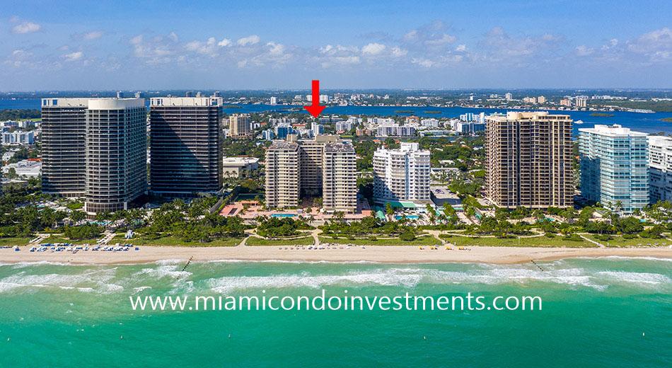Balmoral condominium in Bal Harbour Florida