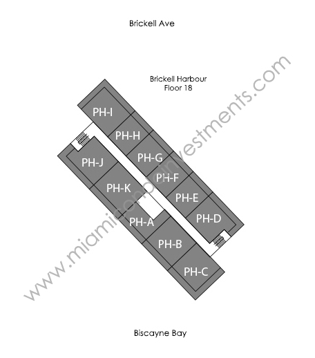 brickell-harbour_site-plan-floor-18